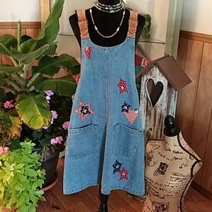 HAIKS VINTAGE JEAN DRESS SZ16